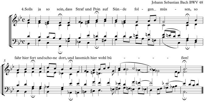 Ach Gott und Herr BWV 48 kpl