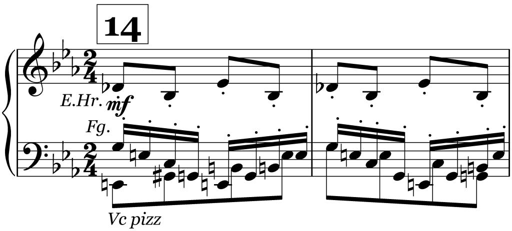 Sacre, Ziffer 14