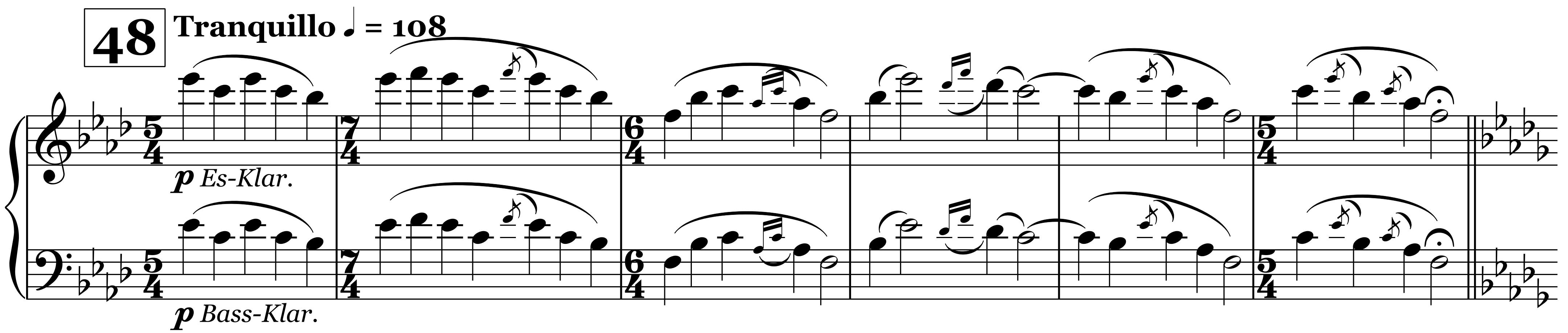 Sacre, Ziffer 48